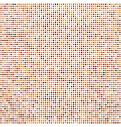 Abstract seamless pattern with multicolor stars on vector image