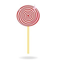 Lollipop candy vector