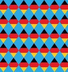 German beer festival rhombus background vector image vector image