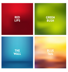 Abstract multicolored blurred background vector