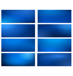blurry business blue backgrounds vector image