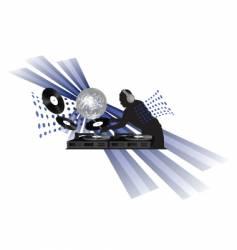 dj vector image
