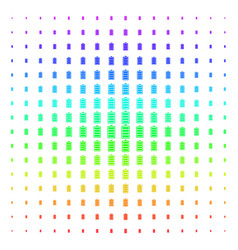Electric battery shape halftone spectral pattern vector