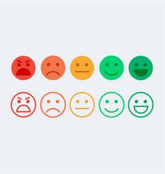 feedback concept vector image