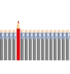 One another pencil in some other gray Be different vector image