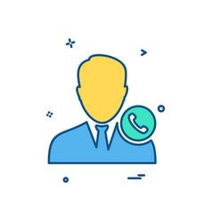 online male icon design vector image