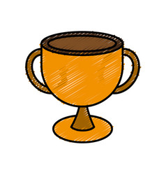 trophy icon image vector image