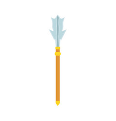 weapon antique sword icon medieval ancient vector image