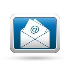 E mail icon vector image vector image