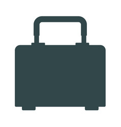 box for carrying tools handle equipment closed vector image