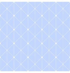 Connected dots seamless pattern vector image