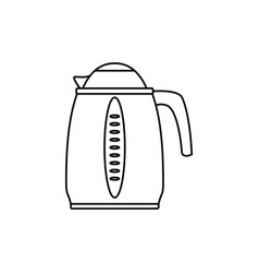 kettle electric pot household appliance vector image vector image