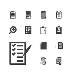 13 form icons vector