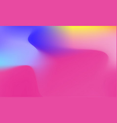 abstract holographic background in pastel neon vector image