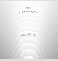 abstract white and gray smooth tone background vector image