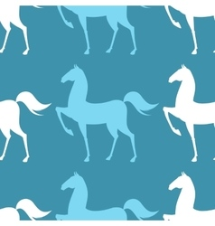 Colorful Pattern with Horse vector