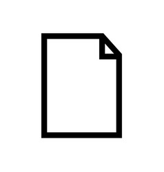 documents icon isolated symbol files vector image