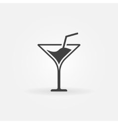 Martini icon or logo vector image