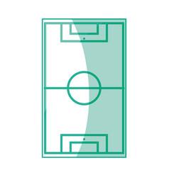 Soccer or football field vector