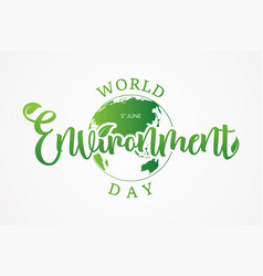 world environment vector image