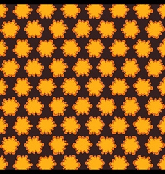 yellow abstract design pattern background vector image