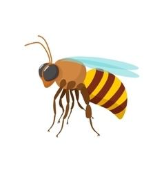 Bee cartoon icon vector image vector image