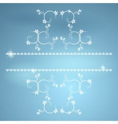 Vintage monograms for decoration EPS10 vector image vector image
