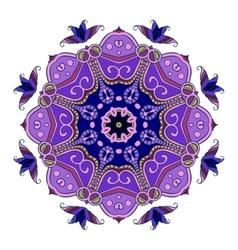 Abstract Hand-drawn Mandala 4 vector image