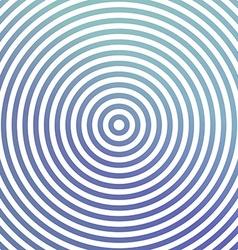 Blue metallic circle background design vector