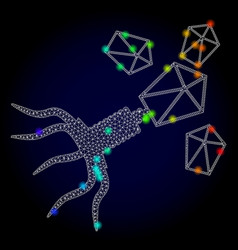Carcass mesh virus replication with rainbow vector