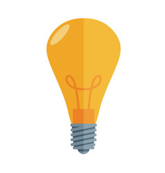 Lightbulb isolated icon pictogram eps 10 vector