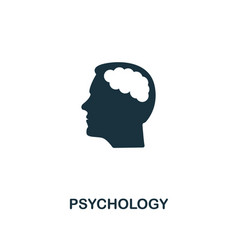 psychology icon premium style design from vector image