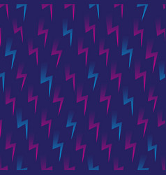 thunder icon seamless pattern vector image