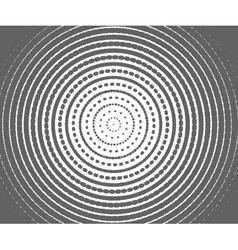 abstract gray spiral vector image