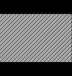 black white diagonal texture seamles pattern vector image