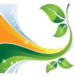 Environmental background vector
