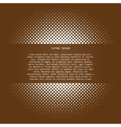 halftone vector image