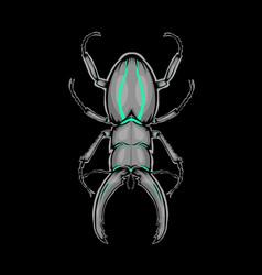 mascot bumblebee vector image