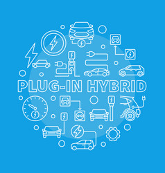 Plug-in hybrid round in thin vector