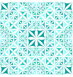 Turquoise abstract repeating curved triangle vector