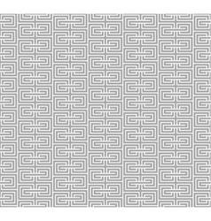 Spiral geometric gray seamless vector image vector image