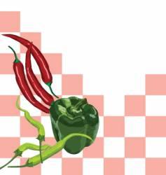 vegies vector image vector image