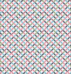 delicate geometric pattern vector image