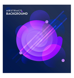 abstract line background with blue background vector image