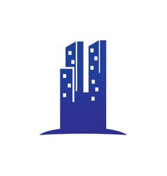 tall skyscraper logo vector image