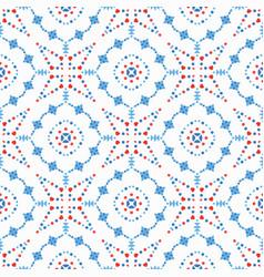 flower pattern boho background vector image vector image