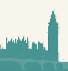 image of London vector image vector image