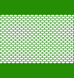 abstract pattern green net on white vector image