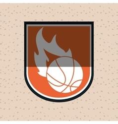Basketball icon design vector