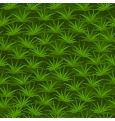 Cartoon seamless tilable grass pattern vector